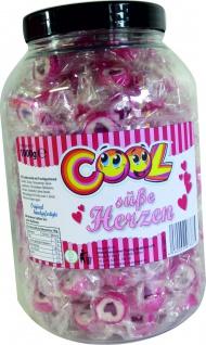 Cool Süße Herzen Dose 1000g