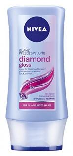 Nivea Glanz Pflegespülung Diamond Gloss, 200ml 2er Pack