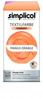 Simplicol Fluessige Textil-F. Intensiv Mango Orange