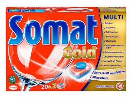 Somat Tabs Gold M, 1er Pack (1 x 22 Tabs) - Vorschau