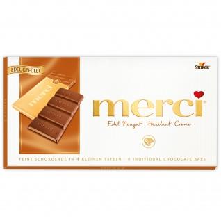 Storck merci - Edel-Nougat Tafelschokolade - 112g