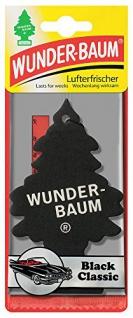 KFZ Wunder Baum Black Ice Auto dufterfrischer Lufterfrischer 3er Pack