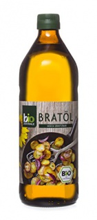 biozentrale Bratöl hocherhitzbar Bio Vegan 750ml 3er Pack