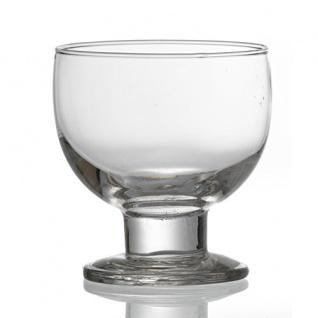 Eis und Dessertschale Pula spülmaschinenfest Glas klar 450ml