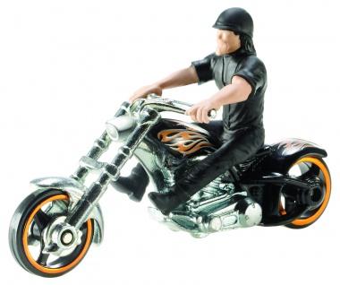 Mattel HWS 164 Motorrad Sort.