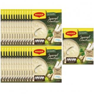 Maggi für Genießer Spargel Cremesuppe mit Petersilie 51g 27er Pack