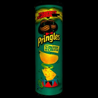 Pringles Cheese und Onion Stapelchips Käse und Zwiebelgeschmack 200g