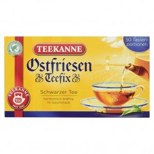 Teekanne Ostfriesen Teefix Schwarzer Tee harmonisch kräftig 75g