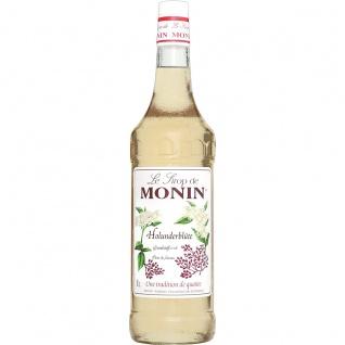 Monin Holunderblüte Sirup Blumig und mit leichter Honignote 1000ml