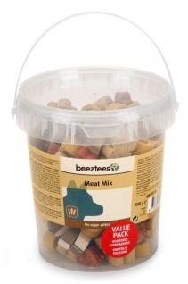 Beeztees Meat Mix Ein unwiderstehlicher Leckerbissen für den Hunde 500g