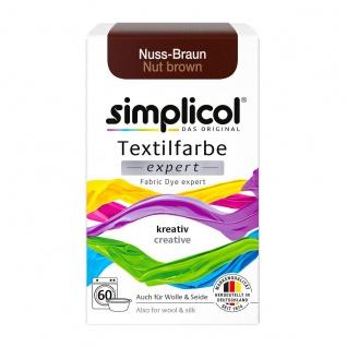 Simplicol Textilfarbe expert für kreatives Färben Nuss Braun