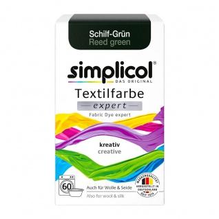 Simplicol Textilfarbe expert zum kreativen Färben Schilf Grün