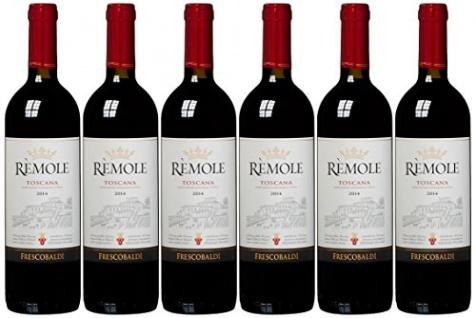 Frescobaldi Remole Toscana Rotwein intensiv fruchtig würzig 750ml 6er Pack