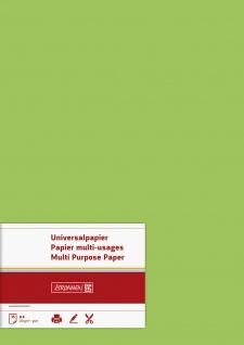 Universalpapier Druckerpapier in hellgrün Inhalt 35 Blatt 120g