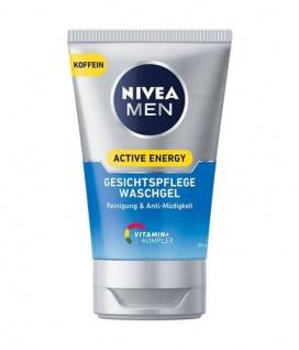 Nivea Men Active Energy Waschgel Reinigung und Anti Müdigkeit 100ml