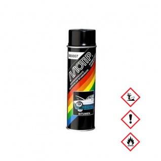MoTip Unterbodenschutz Bitumen Spraydose Kfz Versiegelung 1000ml