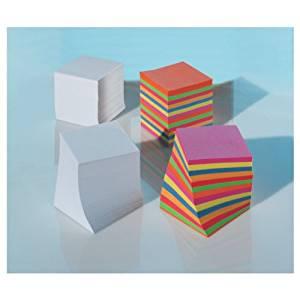 Ersatzklotz 9 x 9 x 9 cm Papier weiß lose