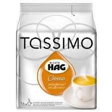 Crema Kaffee Hag Tassimo