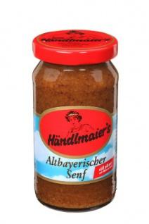 Händlmaier Altbayerischer Senf Original und Pikant 200ml 12er Pack