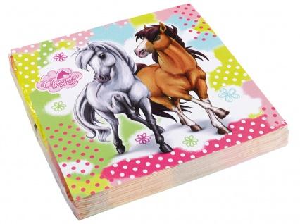 20 Servietten Charming Horses 2