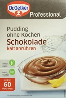 Dr. Oetker Gala Feiner Schokoladen-Pudding, 1er Pack (1 x 900 g)
