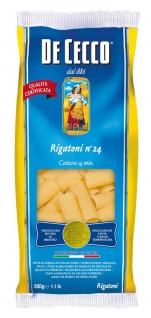 De Cecco Rigatoni Nr. 24 Nudeln aus Hartweizengrieß 500g 6er Pack