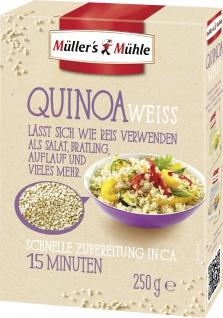 Müllers Mühle Quinoa weiss mit einer feinen nussigen Note 250g