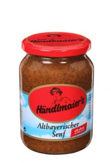 Händlmaier Altbayerischer Senf süß-pikant mit Meerettich 335 ml 12er Pack