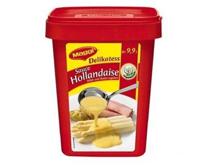 Nestle Maggi Delikatess Sauce Hollandaise vegetarisch 1100g 6er Pack