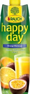 Rauch Happy Day Orange Maracuja Fruchtsaft Südfrüchte 1000ml 6er Pack