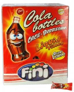 Bubble Gum Boom Cola Bottles gefüllt Glutenfrei 200 Stück Display