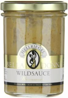 Hellriegel Bella Donna Wild Sauce, 12er Pack (12 x 180 g)