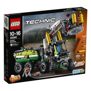 Lego Technic 42080 Harvester-Forstmaschine Rode den Wald mit der Maschine