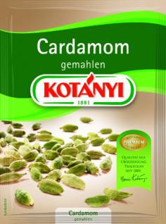 Kotanyi Cardamon gemahlen, 5er Pack