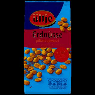 Ültje Erdnüsse knackig pikant gewürzt und ohne Fett geröstet 1000g