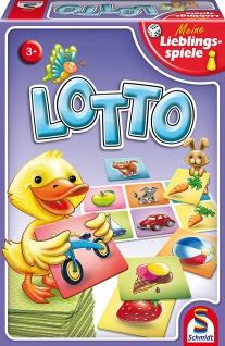 Spiel Lotto - Meine Lieblingsspiele
