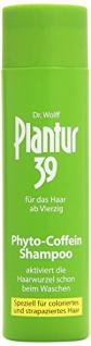 Plantur 39 Coffein-Shampoo speziell für coloriertes strapaziertes Haar, 1er Pack (1 x 250 ml)