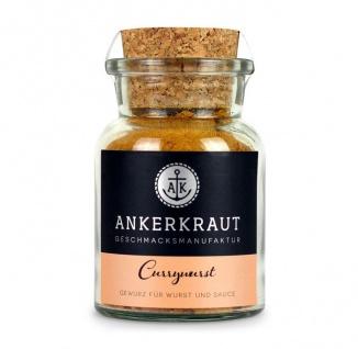 Ankerkraut Currywurst pikante Gewürzmischung im Korkenglas 100g