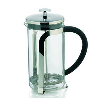 Kela 10852 Kaffeebereiter, 6 Tassen, 1, 0 l, Glas/Edelstahl, Venecia - Vorschau