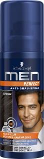 SCHWARZKOPF MEN PERFECT Anti-Grau-Spray Schwarz 120 ml