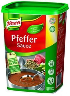 Knorr Pfeffer Sauce 1 kg, 1er Pack (1 x 1 kg)