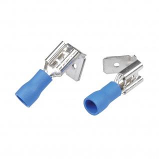 Kfz Steckverteiler 6, 3mm blau