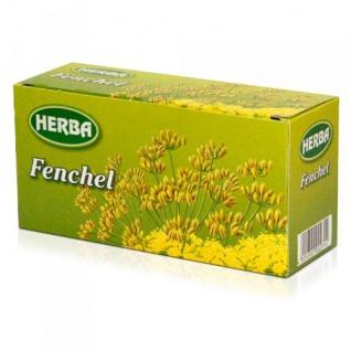 Herba Fencheltee mit gehaltvollen Fenchelsamen 35g 12er Pack