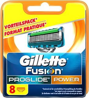 Gillette Fusion ProGlide Power Rasierklingen, 8 Stück, standard Verpackung