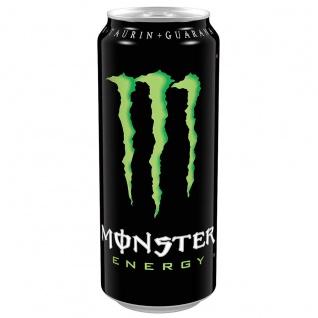 Monster Energy Drink Koffeinhaltiges Erfrischungsgetränk 500ml