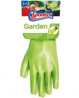 Spontex Handschuh Special Typ 2 Garden Größe S mit Nitrilbeschichtung
