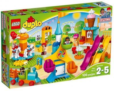 Lego Duplo 10840 Großer Jahrmarkt für Kinder ab 2 Jahren geeignet