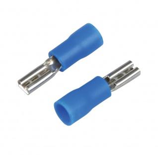 Kfz Flachsteckhuelsen 2, 8mm blau