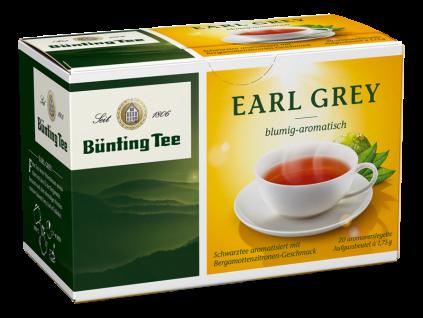 Bünting Tee Earl Grey blumig aromatisch Schwarztee 20 Teebeutel