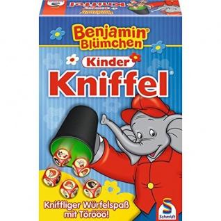 Spiel B.Bluemchen Kinder Kniffel